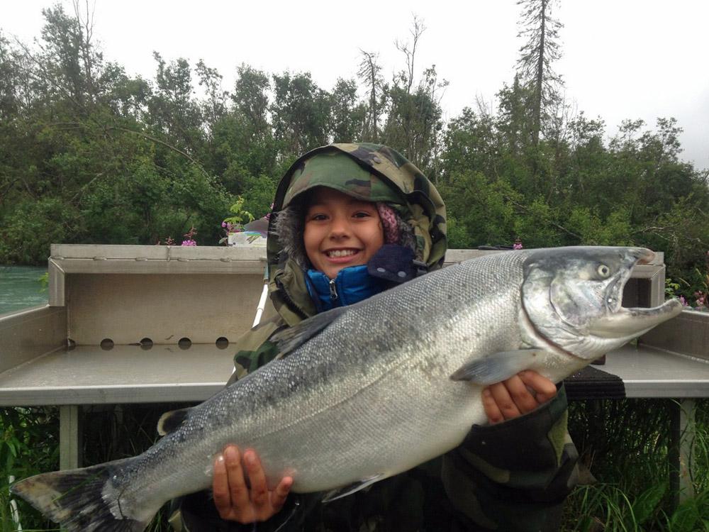 Kenai Wild Fishing – Alaska Silver Salmon Guides